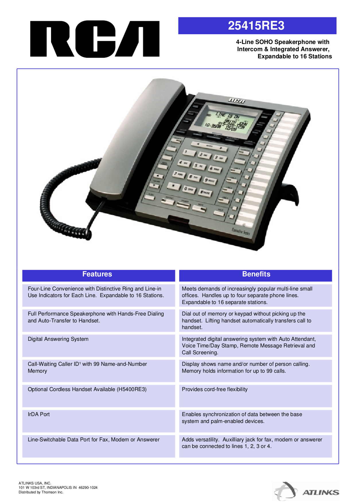 download free pdf for rca 25415re3 telephone manual rh umlib com