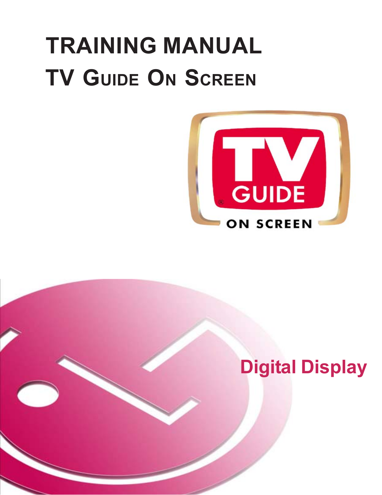 pdf for LG TV 60PY2DR manual