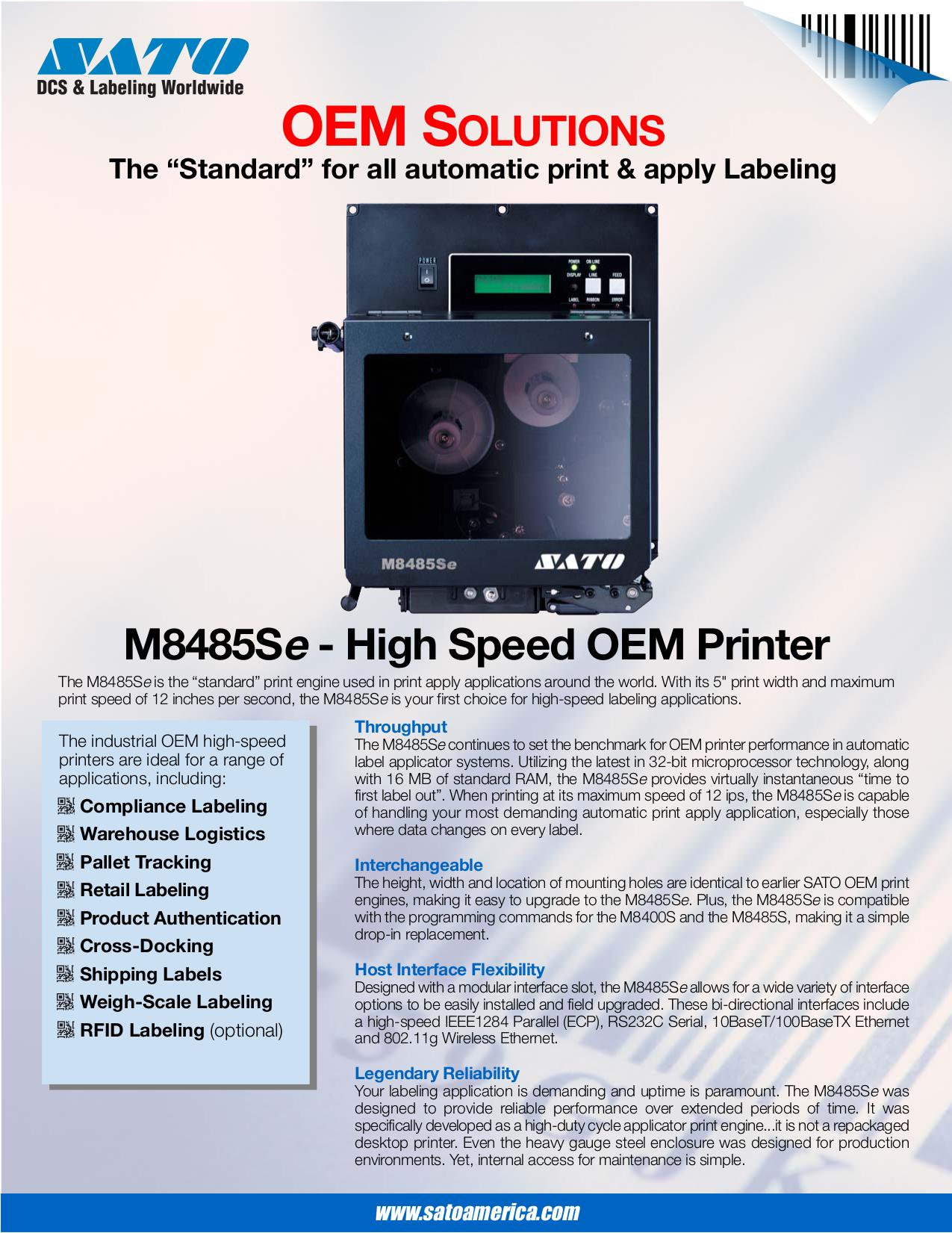 download free pdf for sato m8485se printer manual rh umlib com sato m8485se programming manual