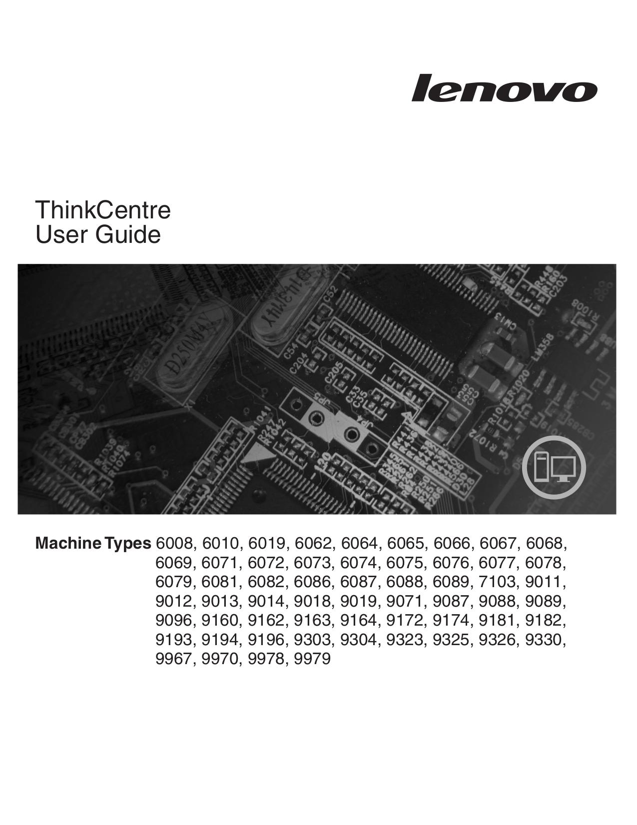 pdf for Lenovo Desktop ThinkCentre M57 6074 manual