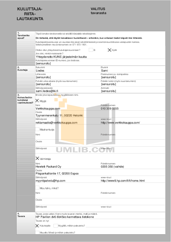 pdf for HP Laptop Pavilion G4-1215 manual