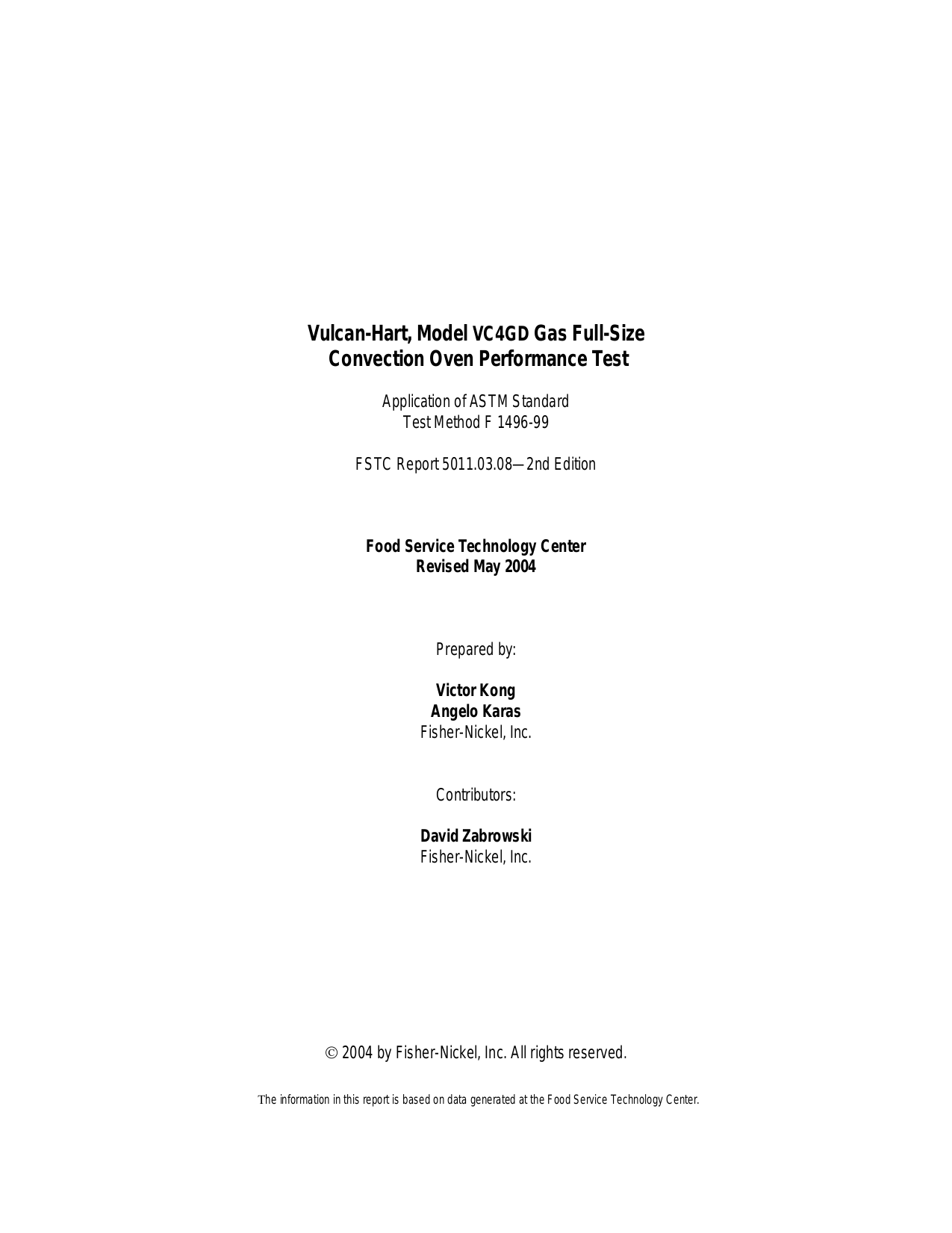 pdf for Vulcan Oven VC4GD manual