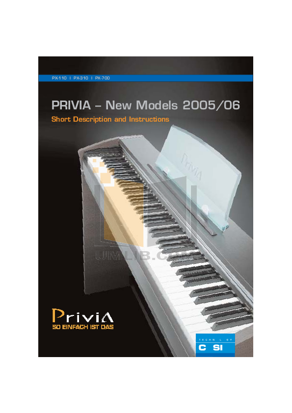 download free pdf for casio px 110 music keyboard manual rh umlib com Casio Keyboard Privia PX -150 Casio Keyboard Privia PX -150