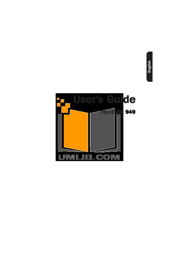 pdf for Hasselblad Scanner Flextight 949 manual