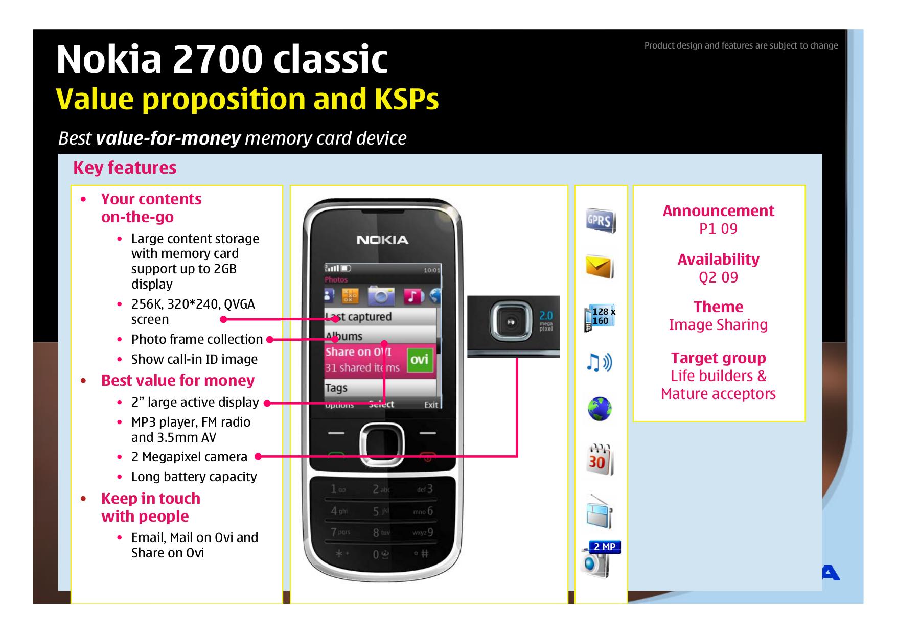 Nokia 2700 classic Themes -- Free Downloads - Ownskin