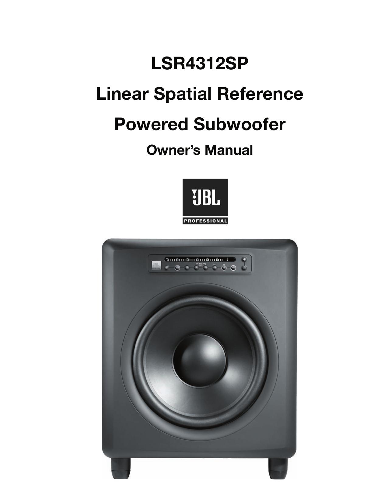 download free pdf for jbl sub 12 subwoofer manual rh umlib com JBL 12- Speaker JBL Subwoofer 12