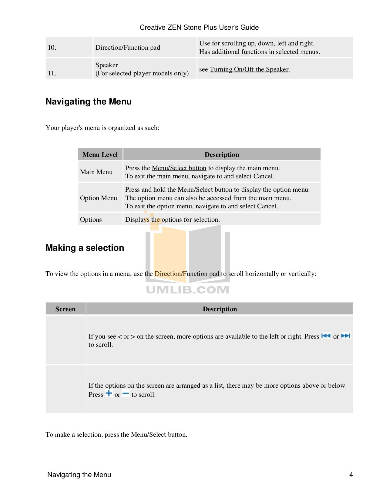 pdf manual for creative mp3 player zen zen stone plus 4gb rh umlib com Creative Zen Stone Plus Creative Zen Wallpapers
