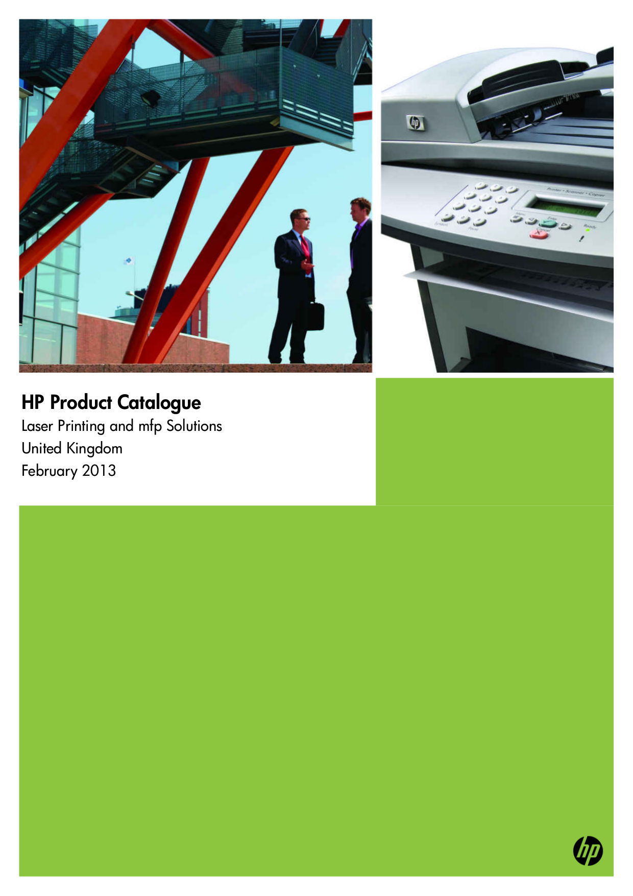 pdf for HP Multifunction Printer Laserjet,Color Laserjet M5035 manual