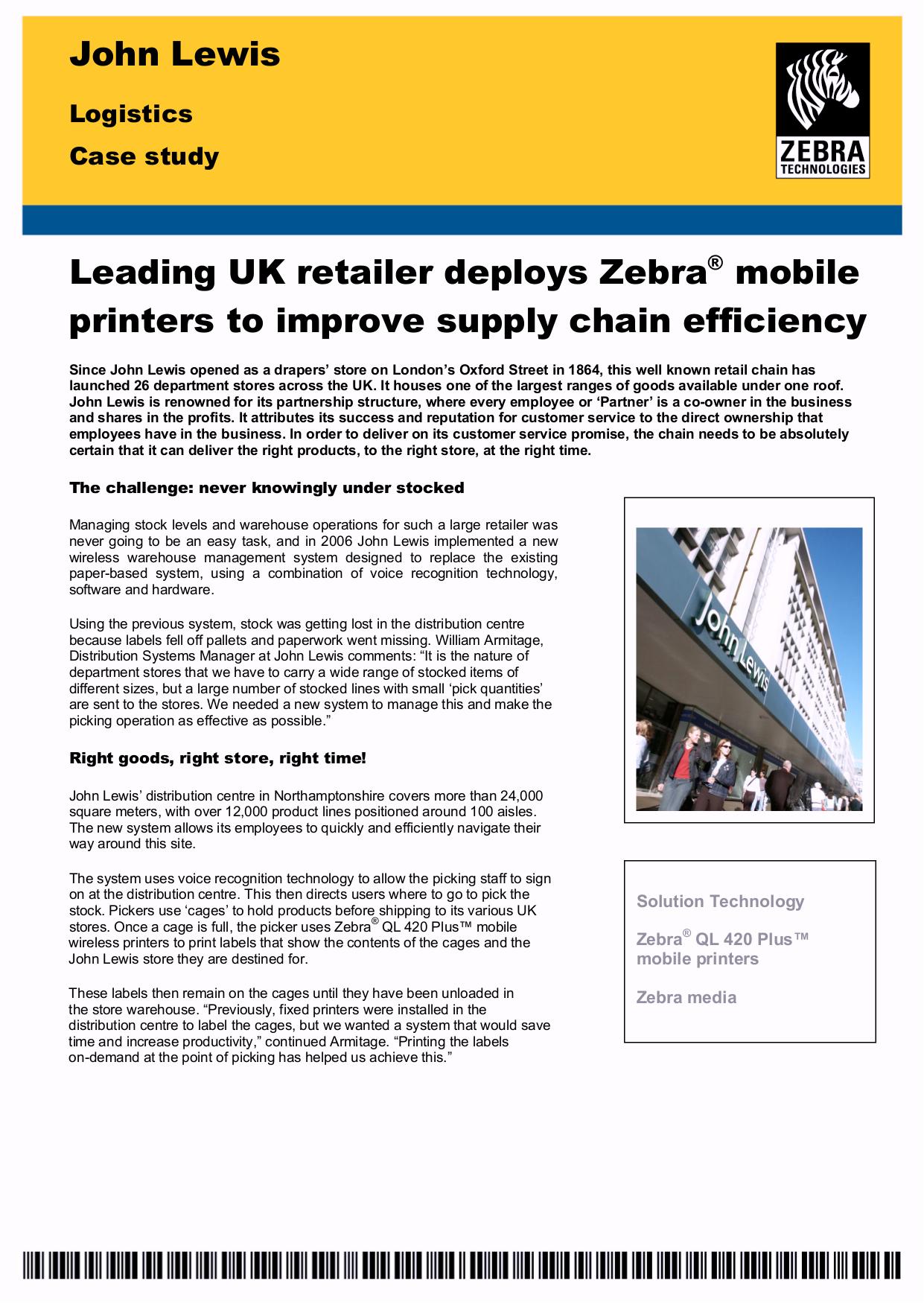 Download free pdf for Zebra QL420 Plus Printer manual