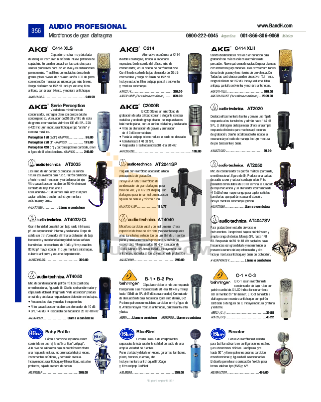 pdf for Eaw Speaker System SM120 manual