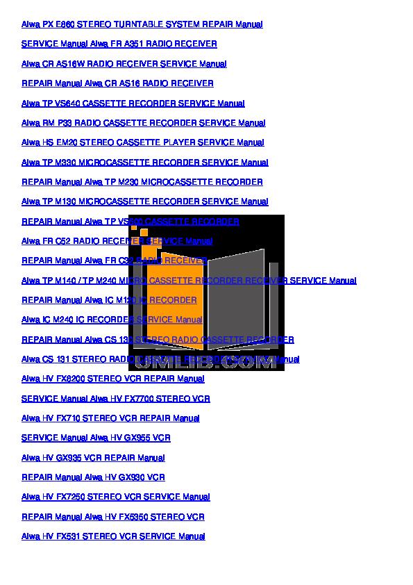 pdf manual for aiwa other nsx 4000 stereo systems rh umlib com Aiwa Nsx D22 Aiwa Nsx V9000