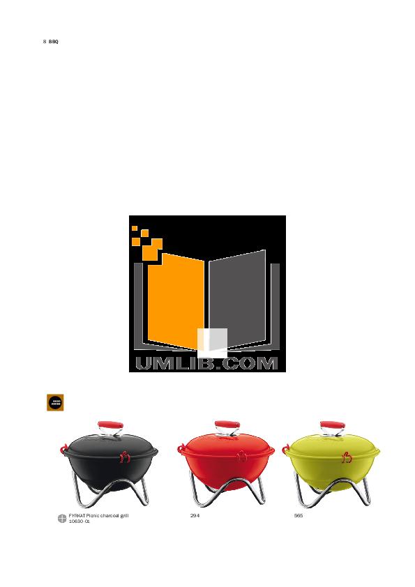 Bodum Grill Bistro 11133 pdf page preview