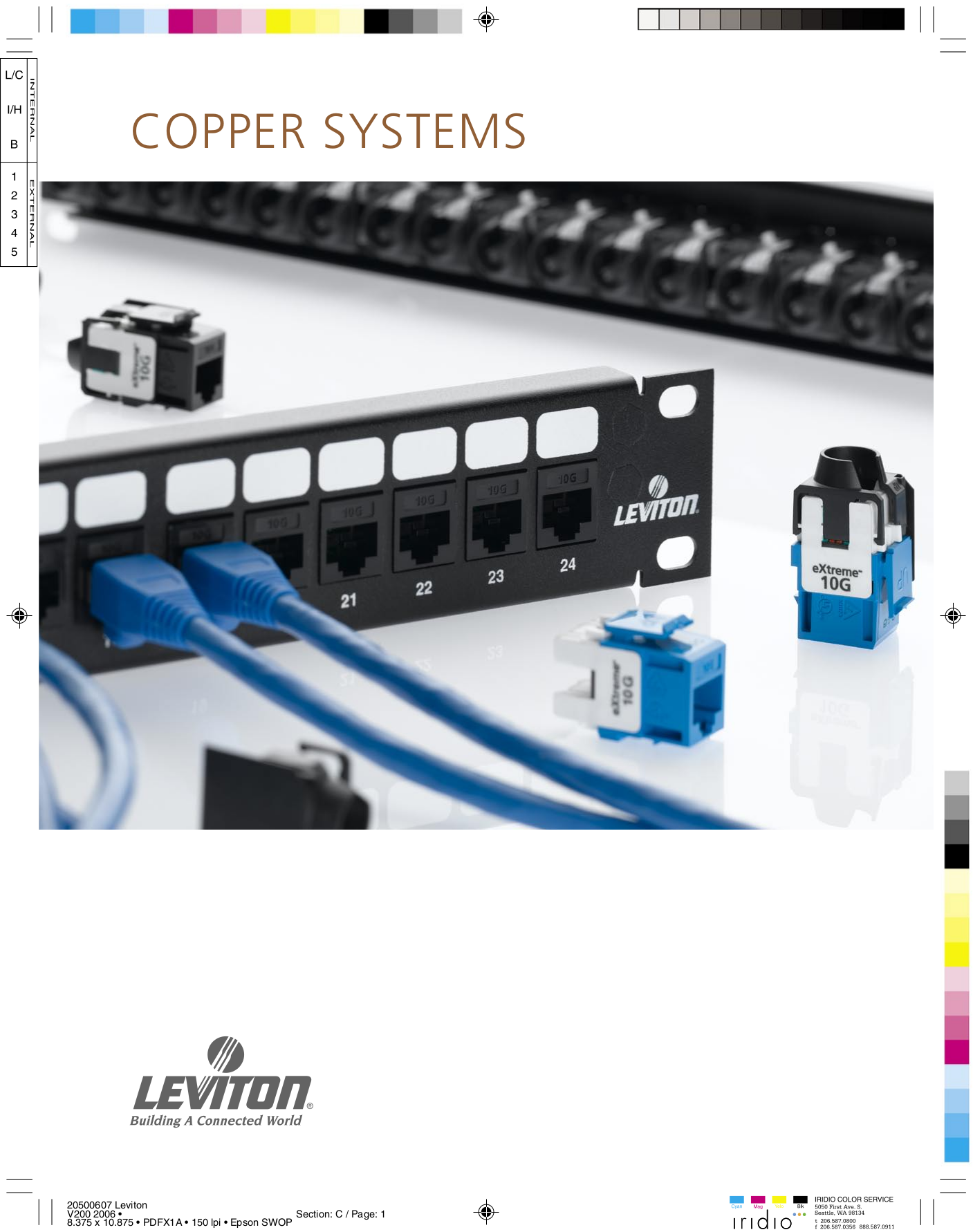 Download free pdf for Leviton QuickPort 47689-0QP Patch Block Other ...