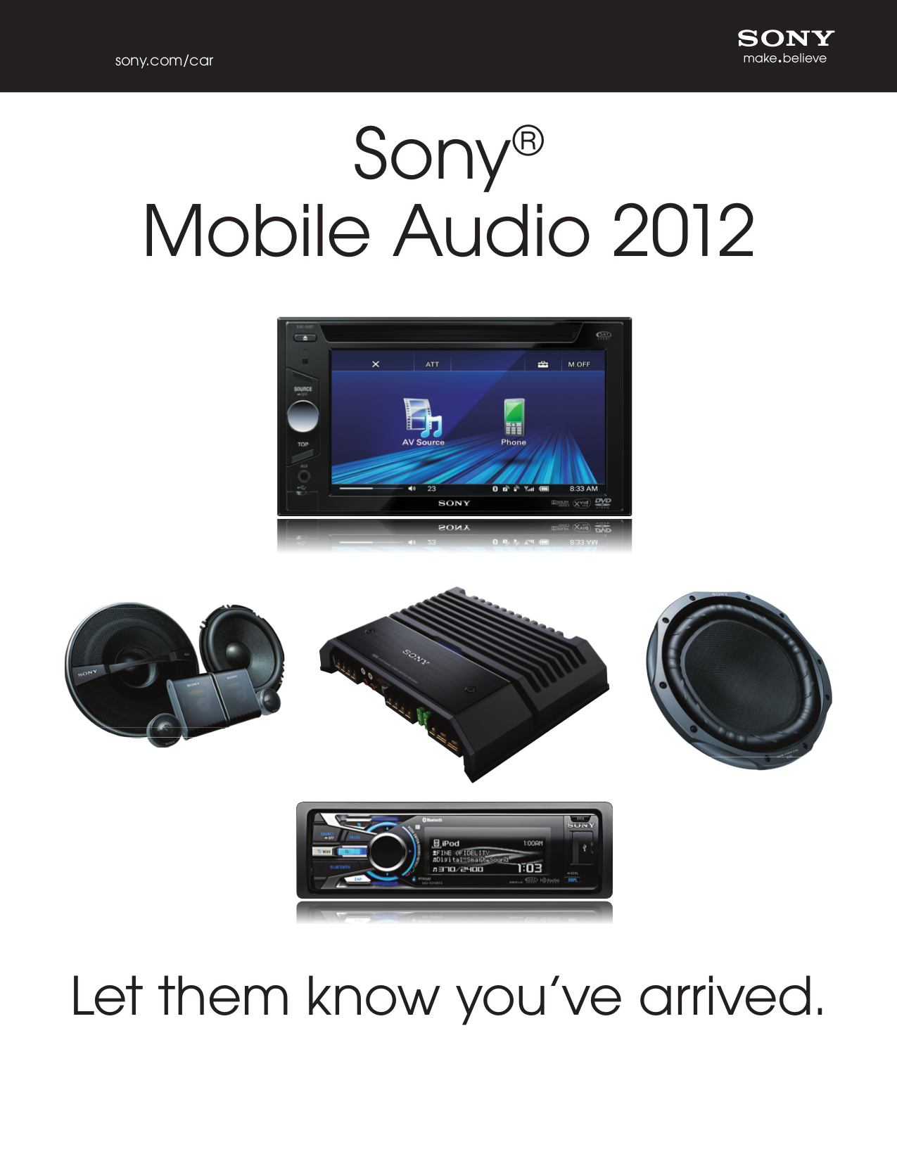 Download free pdf for Sony CDX-M60UI Car Receiver manual