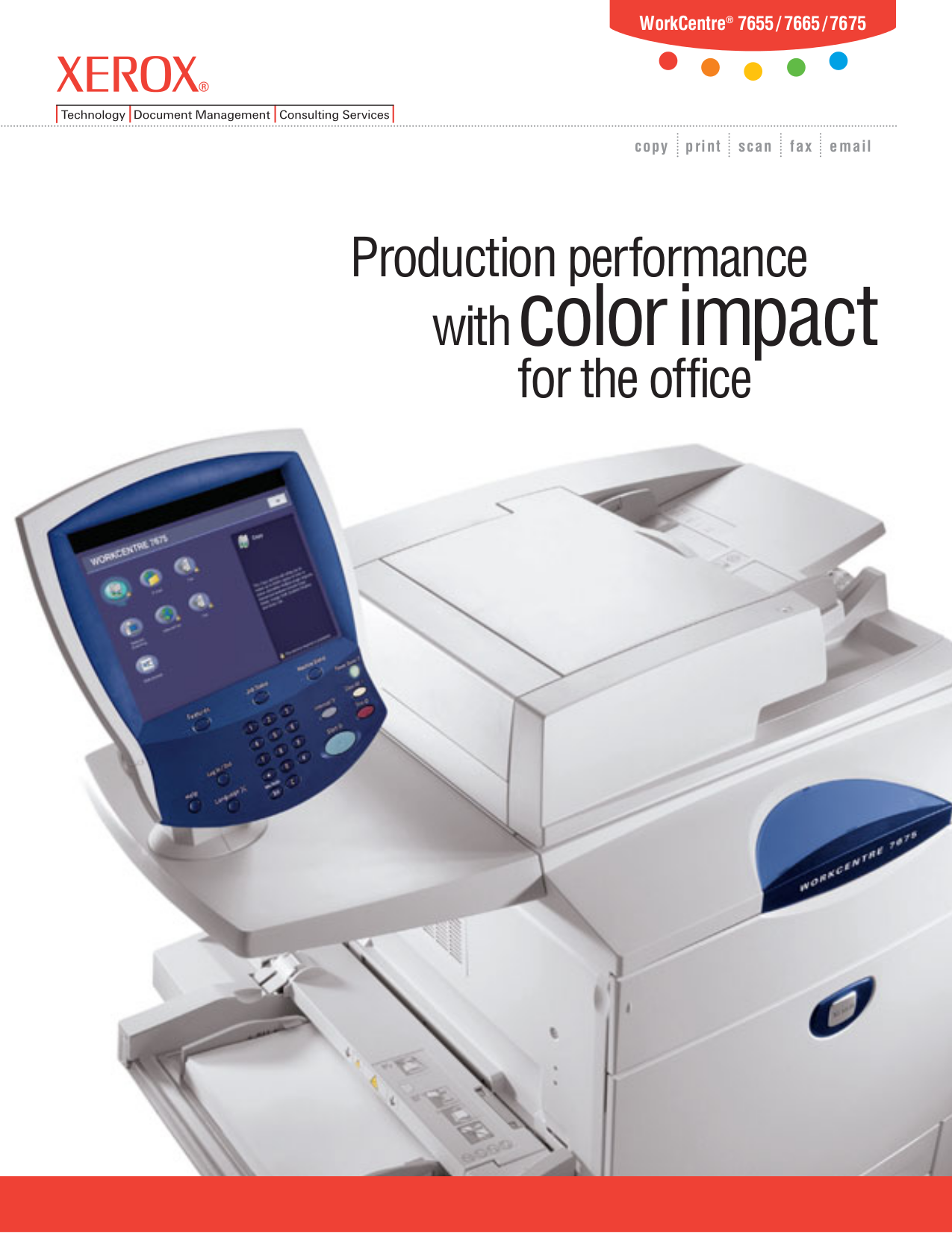 download free pdf for xerox workcentre 7675 multifunction printer manual rh umlib com Xerox WorkCentre 7535 xerox workcentre 7675 service manual