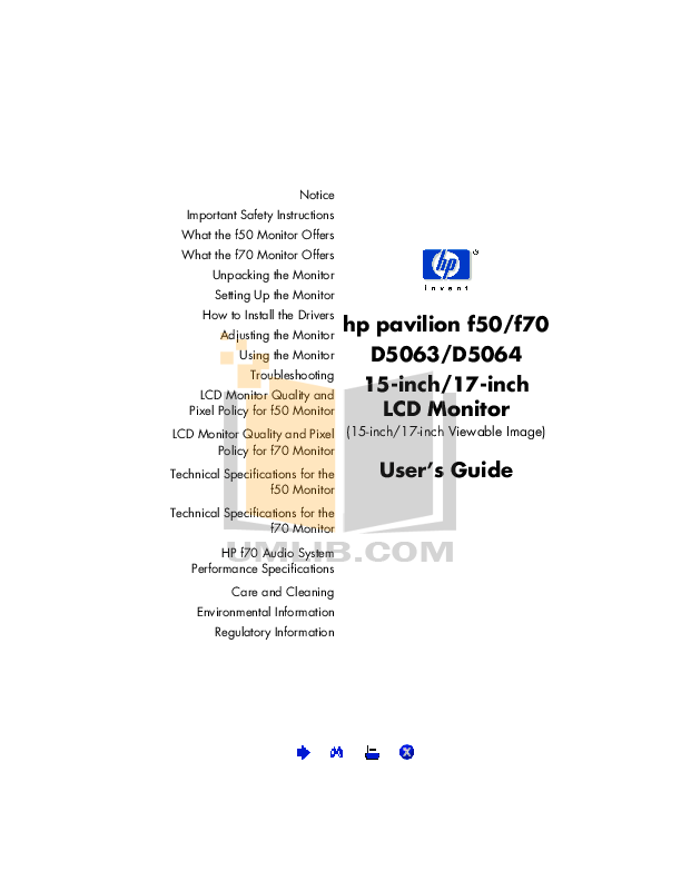 pdf for Avocent Monitor LCD15 manual