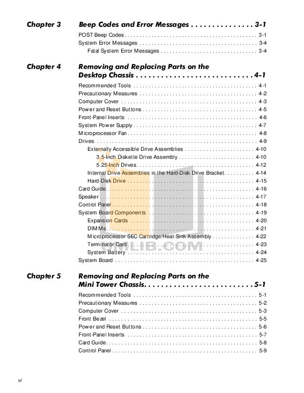 PDF manual for Dell Laptop Precision 410