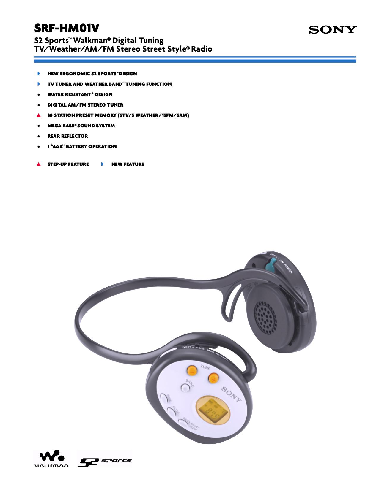 download free pdf for sony walkman srf hm01v radio manual rh umlib com Sony Srf- 36 Sony Srf 37W