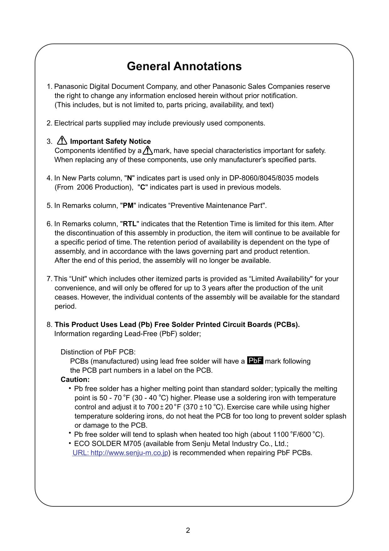 PDF manual for Panasonic Copier WORKIO DP-1810