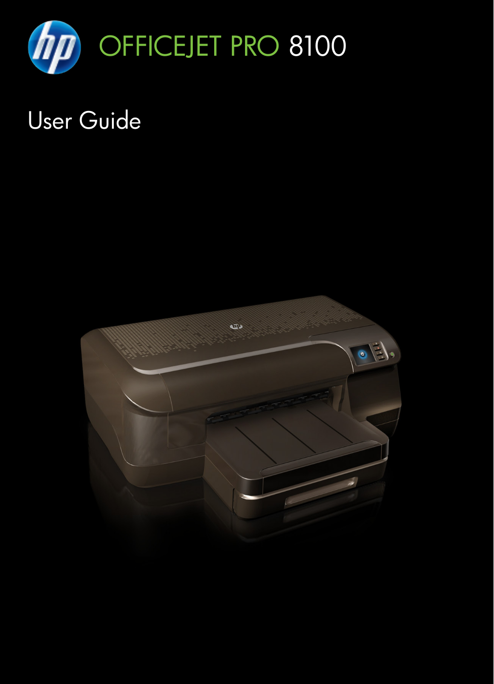 pdf for HP Printer Officejet Pro 8100 manual