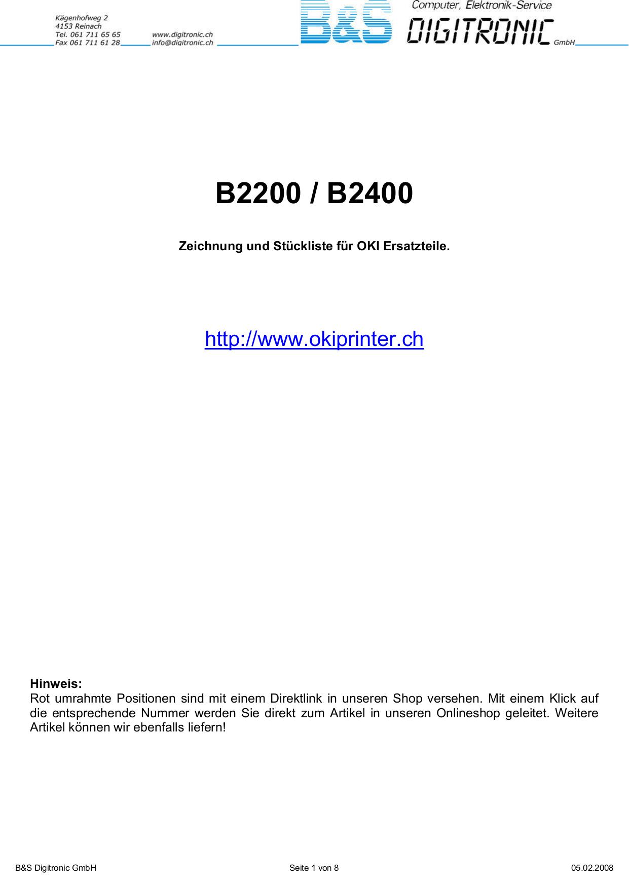 Oki b2200 принтер инструкция
