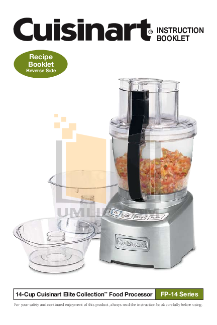 Download free pdf for cuisinart fp14 food processor manual pdf for cuisinart food processor fp14 manual forumfinder Gallery