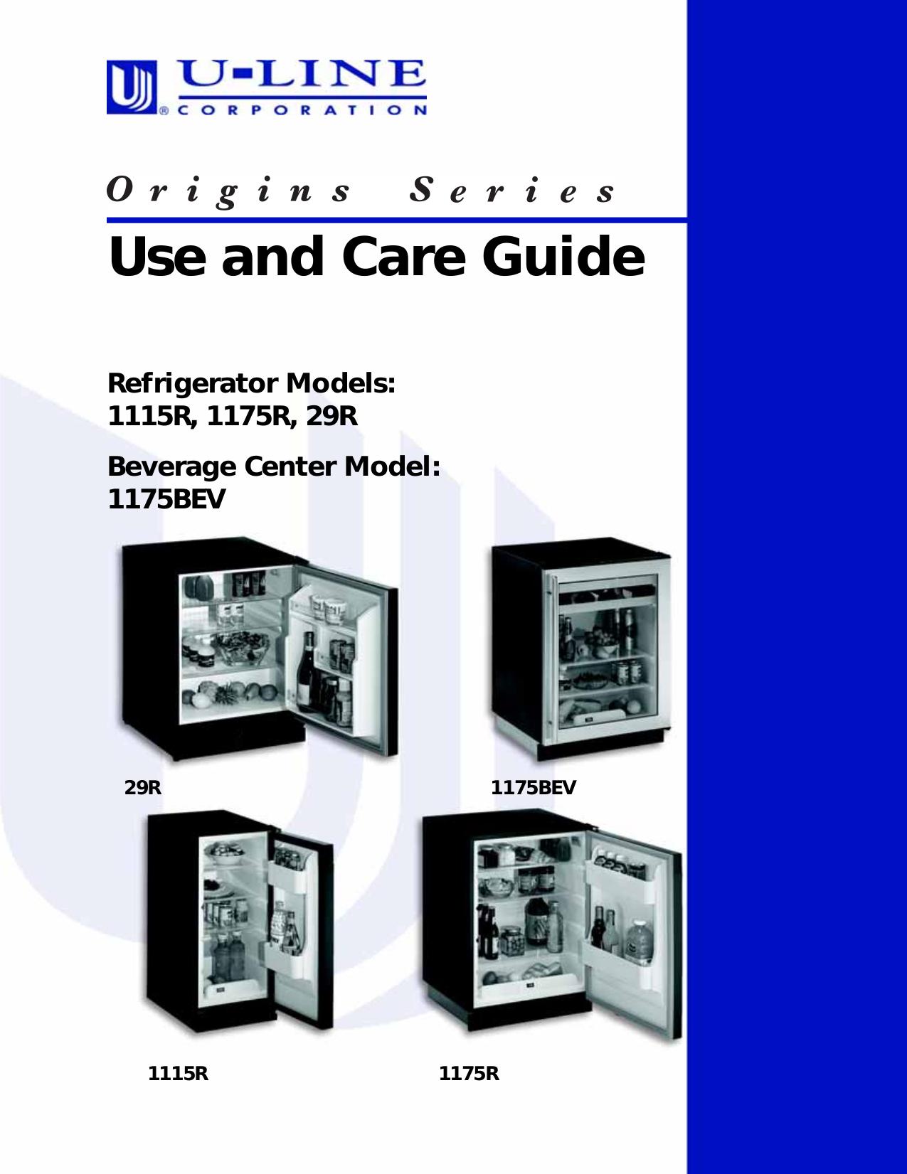 download free pdf for u line origins 1115r refrigerator manual rh umlib com u-line refrigerator parts list u-line refrigerator parts list