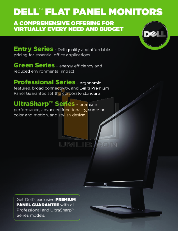 pdf for Dell Monitor G2410 manual