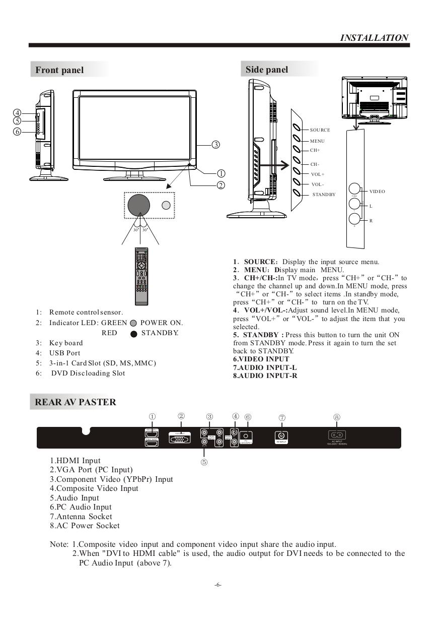 viore lcd tv manual product user guide instruction u2022 rh testdpc co
