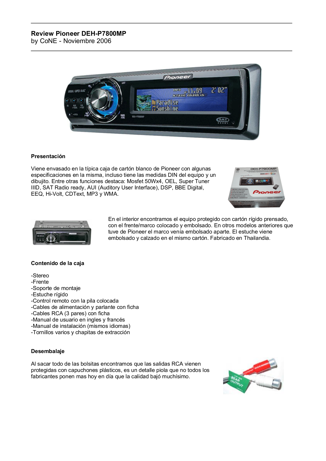 download free pdf for pioneer deh p7800mp car receiver manual rh umlib com Pioneer Premier Deh P780mp Manual Pioneer DEH- 150MP Wiring Harness Diagram