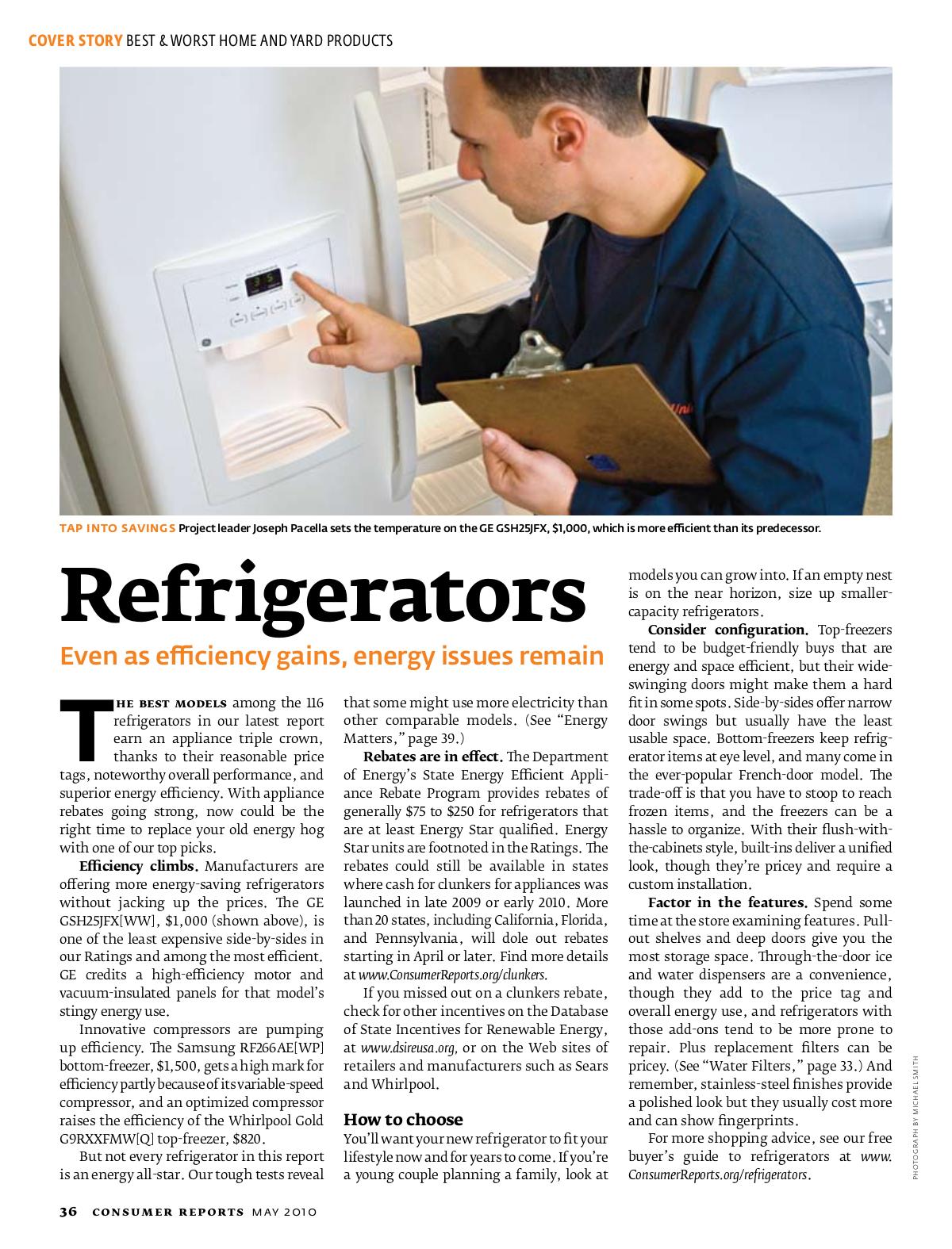 pdf for Samsung Refrigerator RF266AE manual