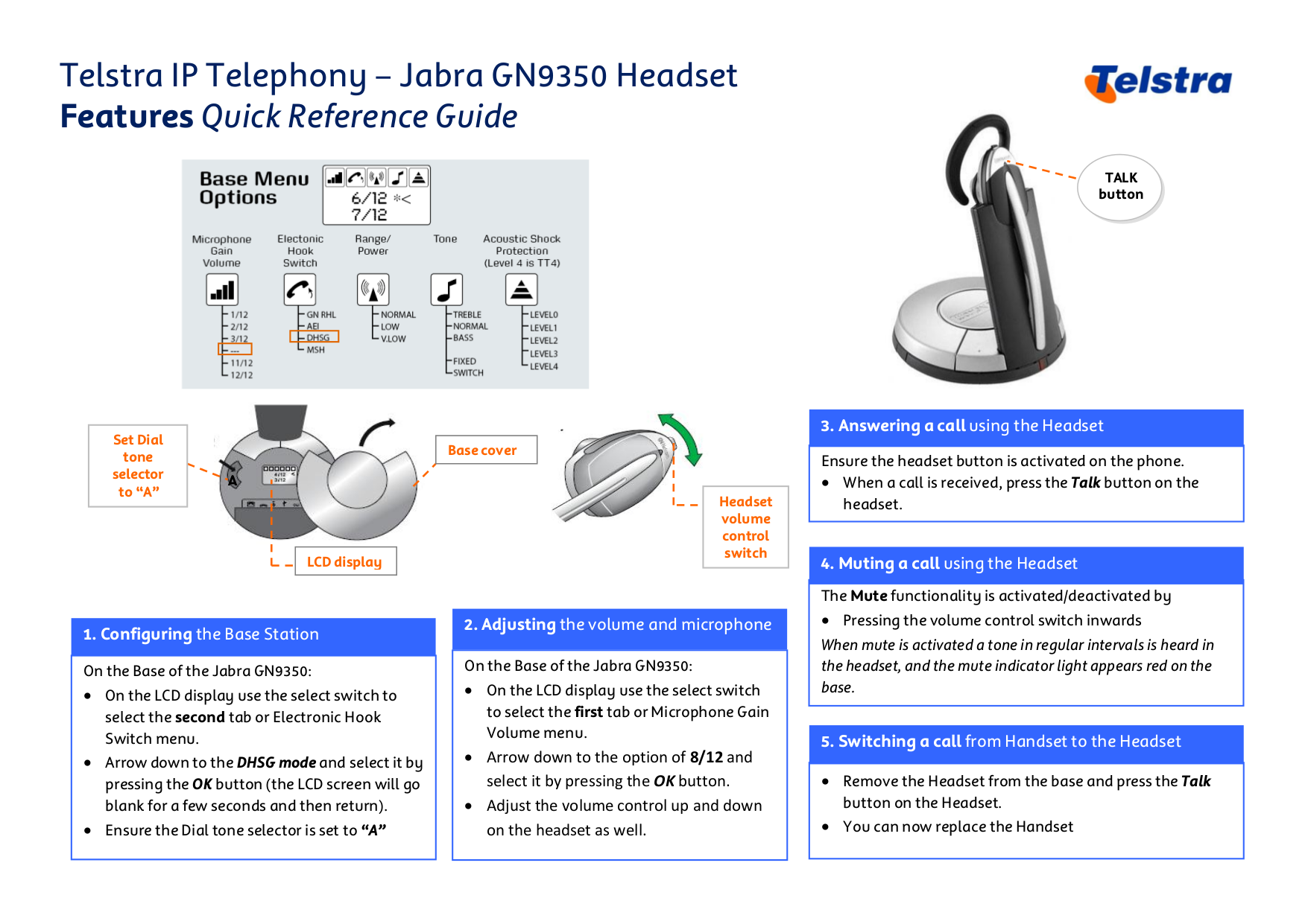 Download Free Pdf For Jabra Gn 9350 Headset Manual