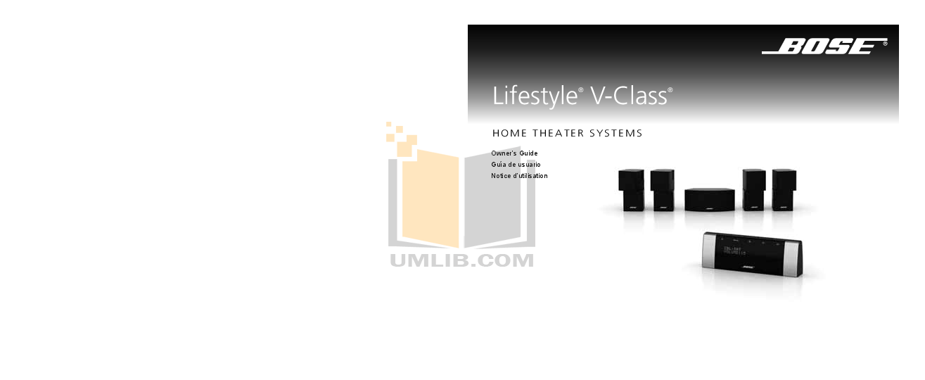 download free pdf for bose lifestyle v10 home theater manual rh umlib com Bose Lifestyle Model 5 Bose Lifestyle 20 Replacement Parts