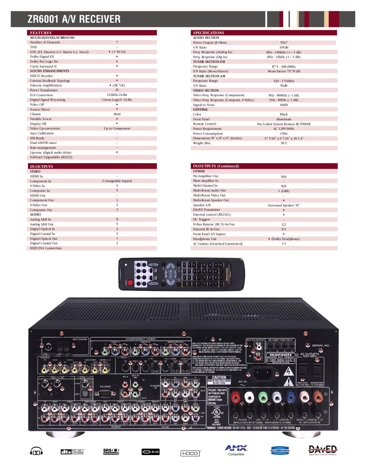 pdf manual for marantz receiver sr5600 rh umlib com marantz sr5600 service manual marantz sr5600 manuel français