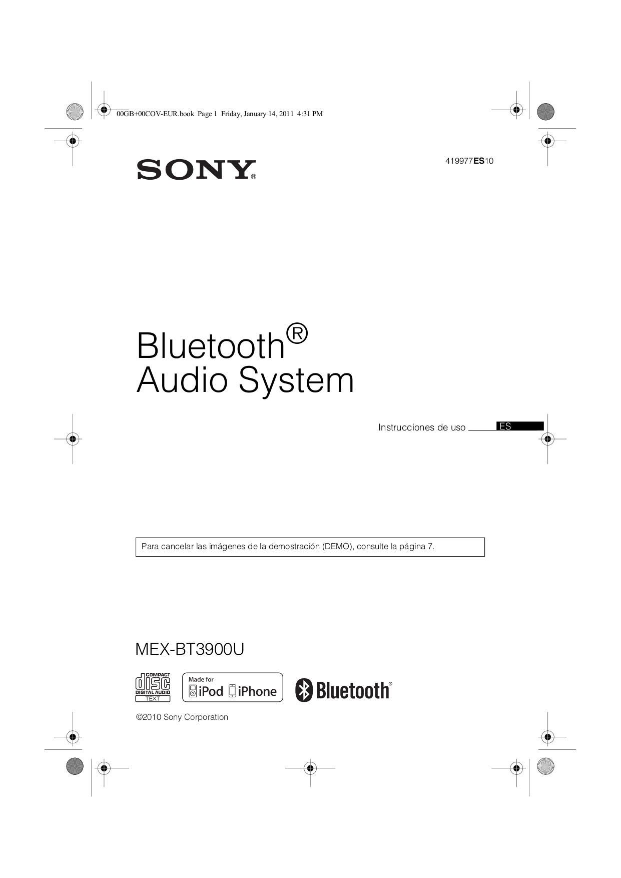 419977ES10.PDF 0 download free pdf for sony xplod mex bt3900u car receiver manual sony mex bt3700u wiring diagram at bayanpartner.co