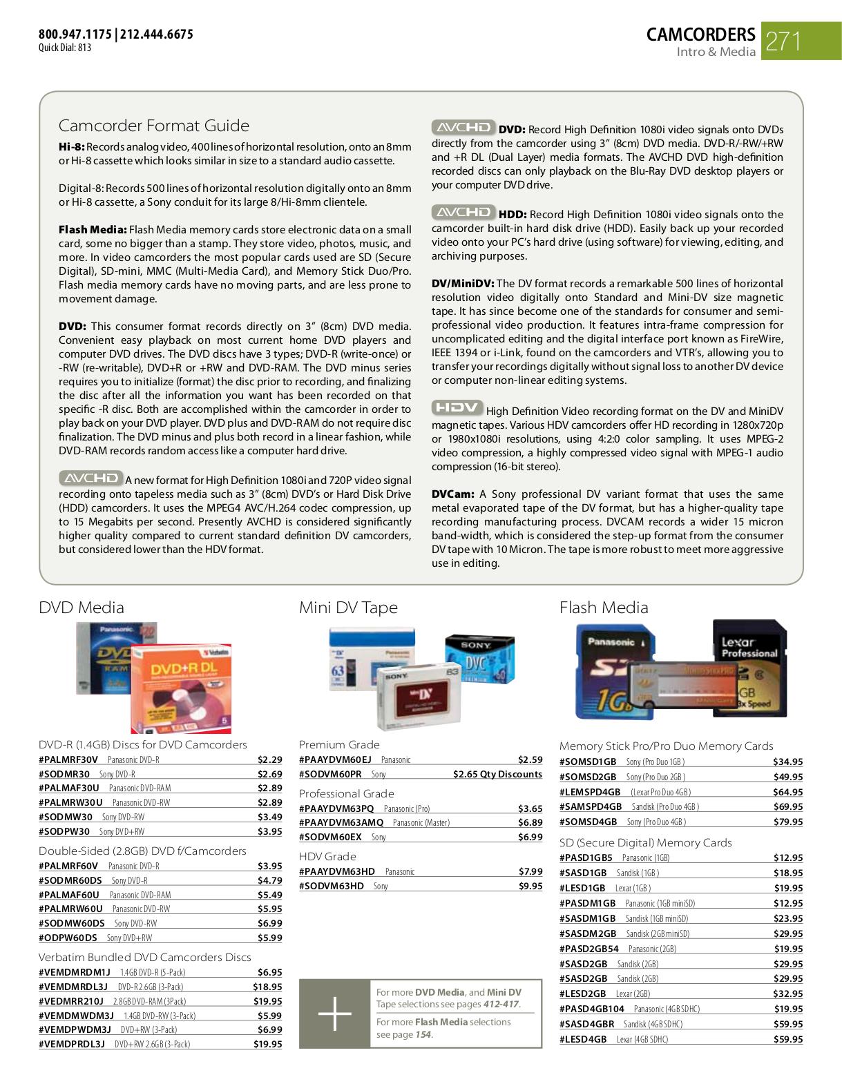 Sony handycam dcr-dvd108