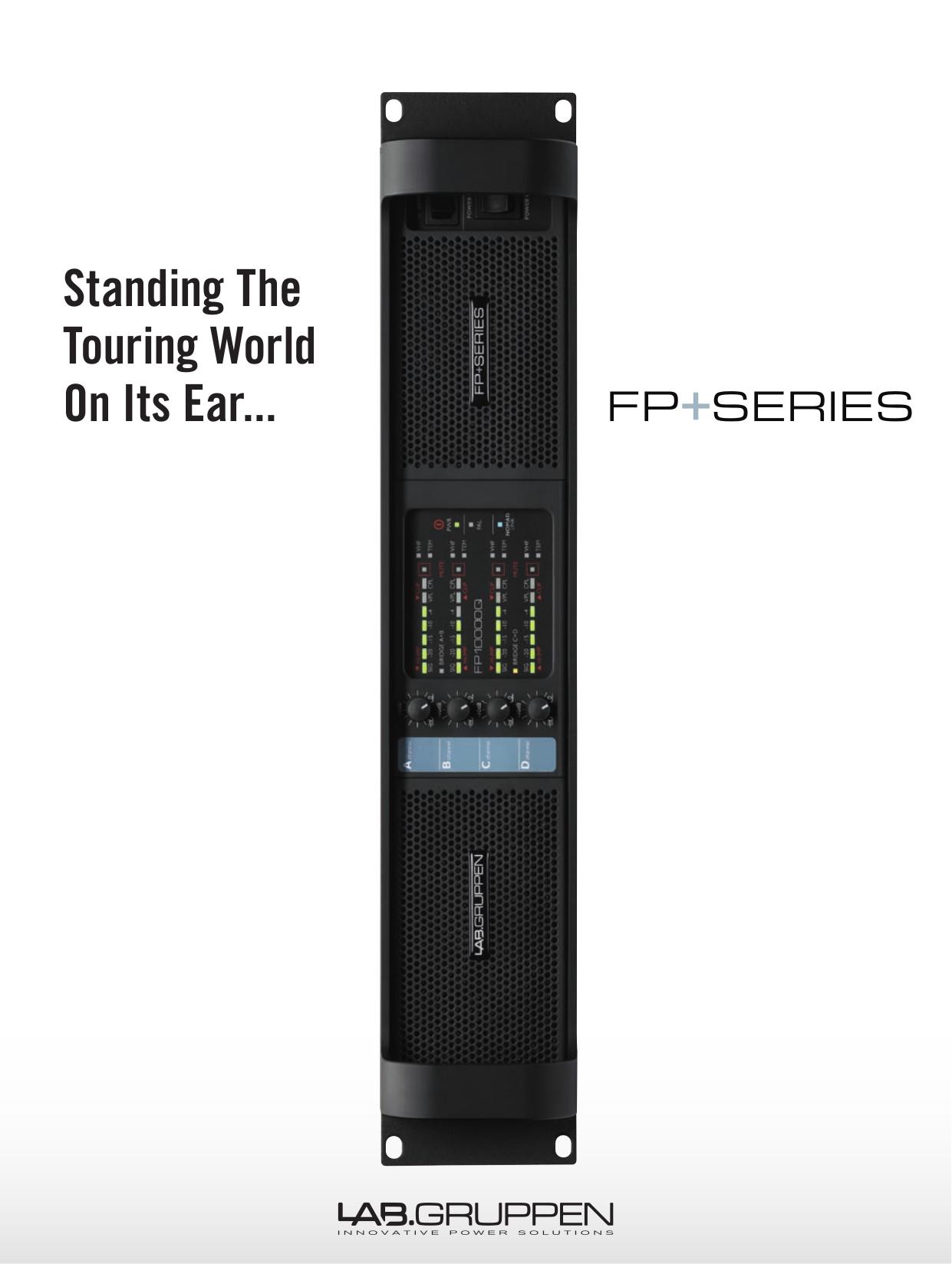 pdf for Lab.gruppen Amp fP Series FP 6400 manual