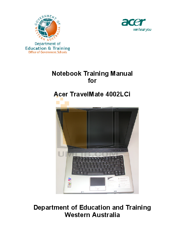 download free pdf for acer travelmate 4002 laptop manual rh umlib com Acer TravelMate P6 Acer TravelMate 2300 Drivers