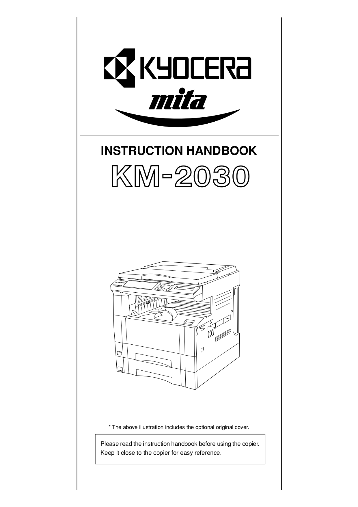 Download free pdf for kyocera km c2030 printer manual for Document 2030 pdf