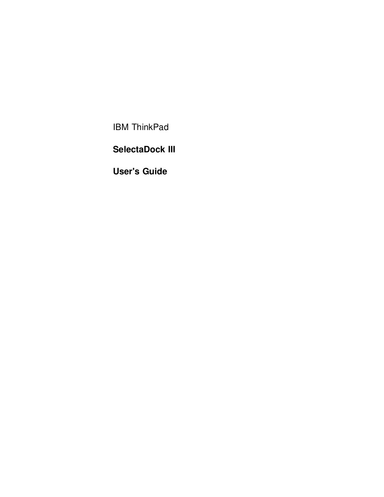 pdf for IBM Laptop ThinkPad 765D manual