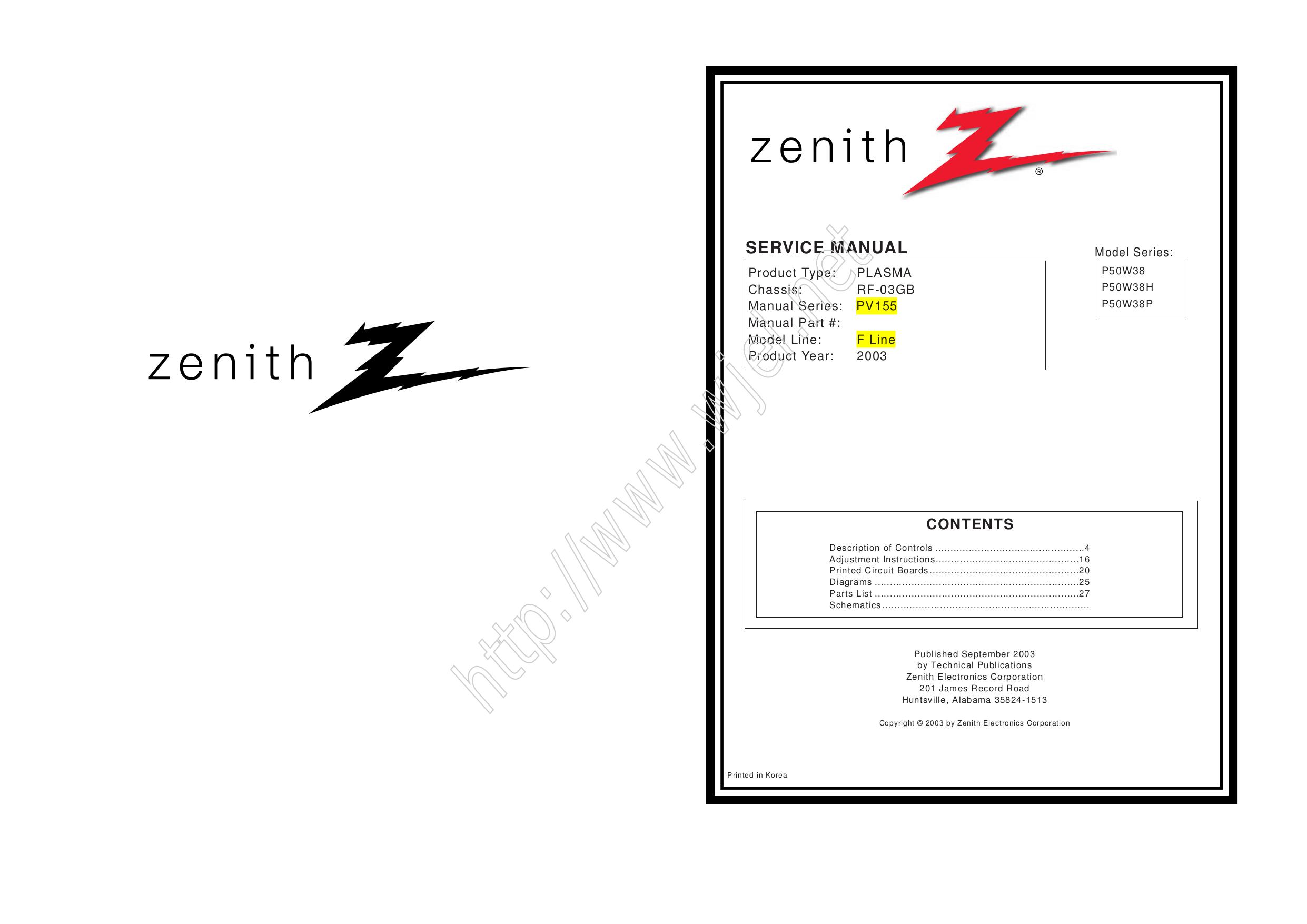 pdf for LG Monitor MU-50PZ44VS manual