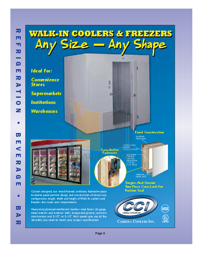 Delfield Refrigerator SCI-96 pdf page preview
