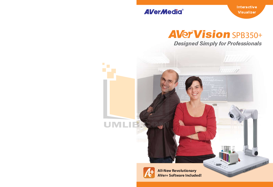 pdf for Avermedia Other AverVision SPB350 Projector-Accessory manual