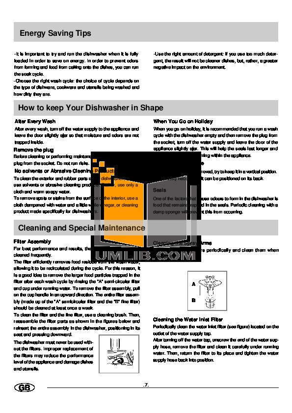 pdf manual for haier dishwasher hdw300ss rh umlib com Haier Dishwasher Steam Haier Countertop Dishwasher