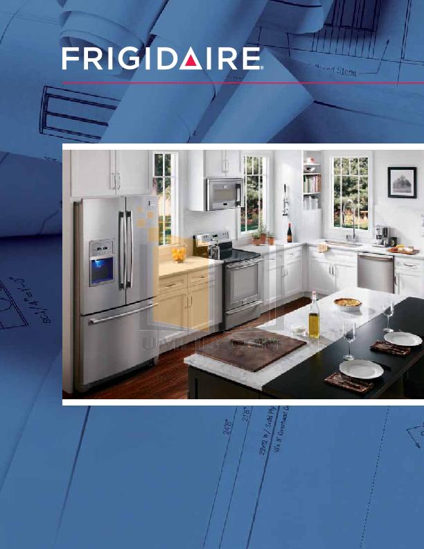 pdf for Frigidaire Refrigerator FFTR2126L manual