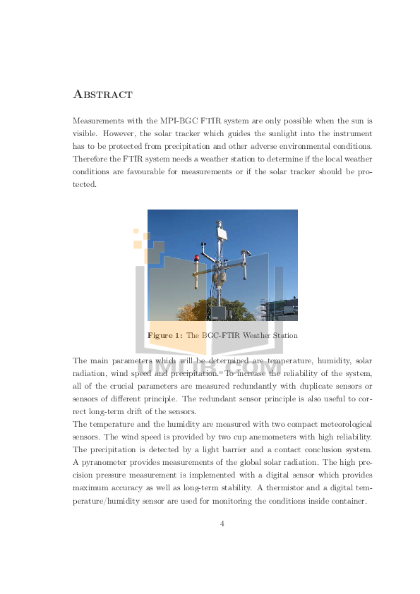 Fourier Other Weather Station Data Loggers pdf page preview