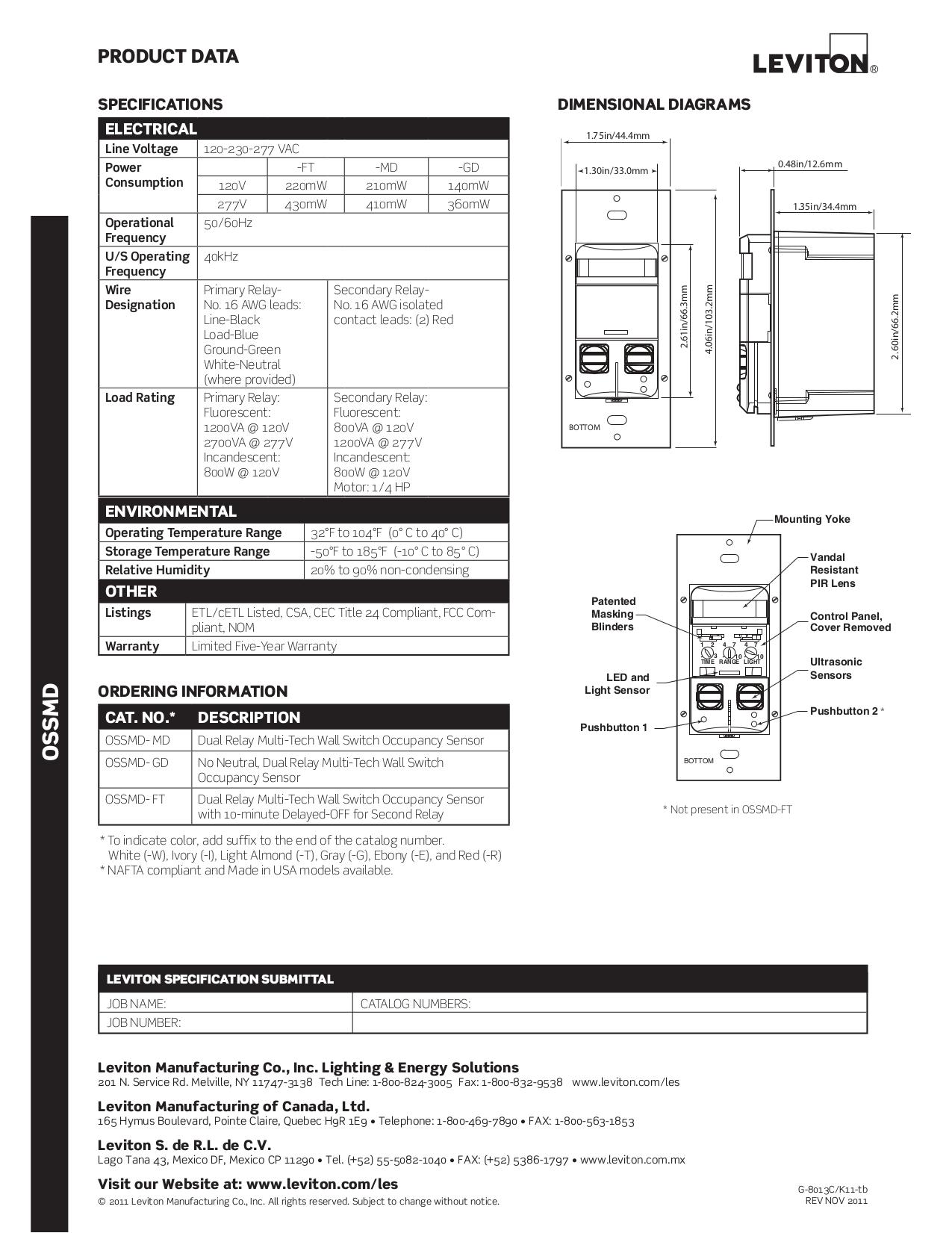 Charmant Leviton Katalog Pdf Bilder - Schaltplan Serie Circuit ...