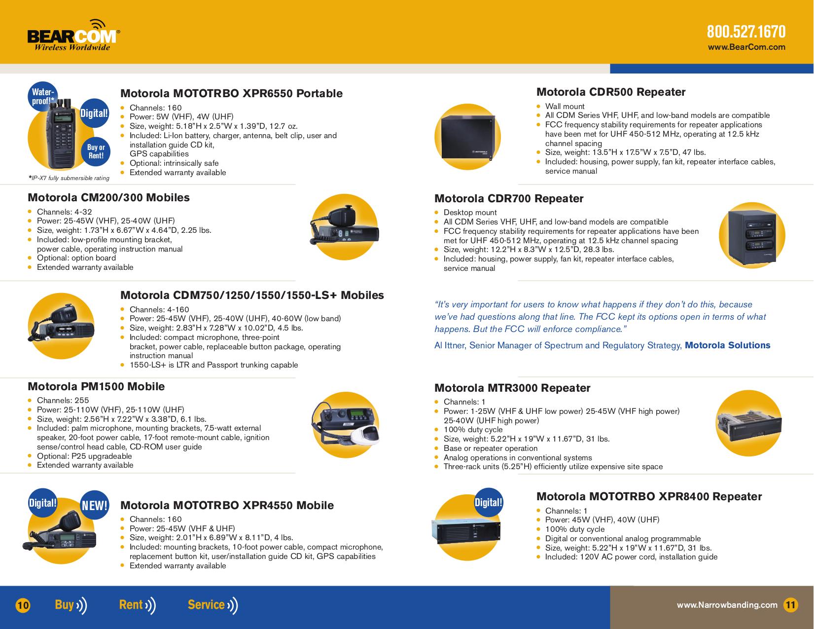 PDF manual for ICOM 2-way Radio IC-FR4000