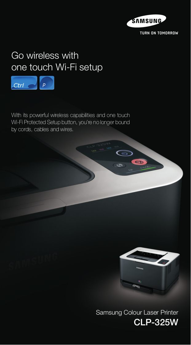 pdf for Samsung Printer CLP-325W manual