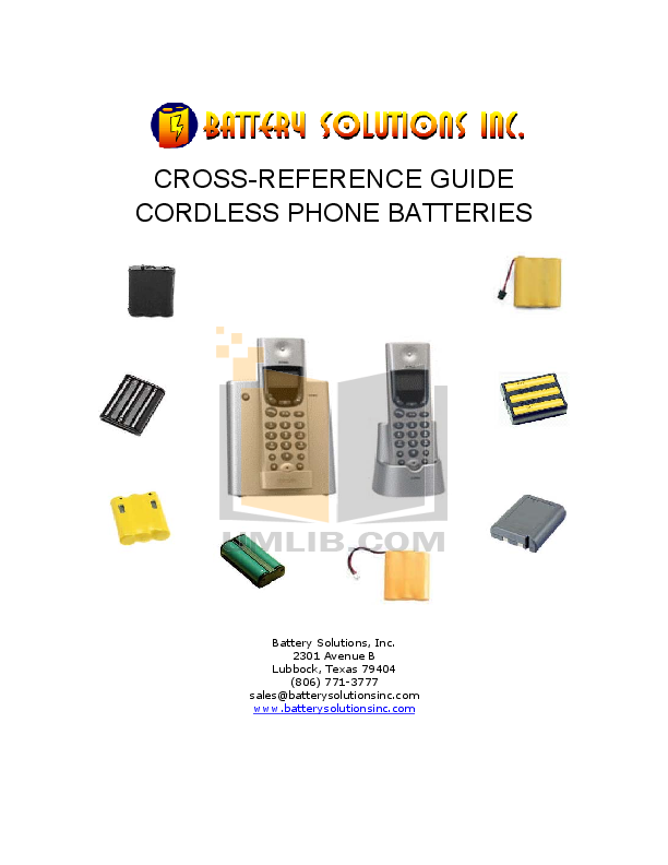 pdf for Clarity Telephone C600 manual